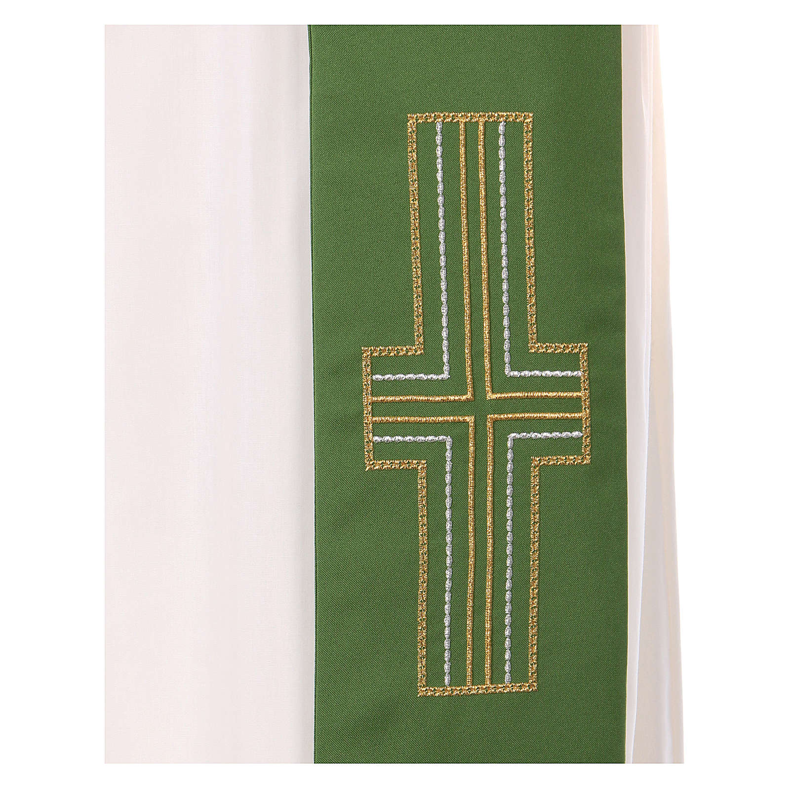 Stola diaconale 100% poliestere ceri 4