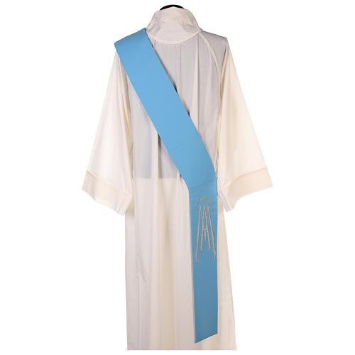Stuła dla diakona symbol maryjny 100% poliester 10