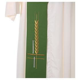 Etole pour diacre 100% polyester croix épis s2
