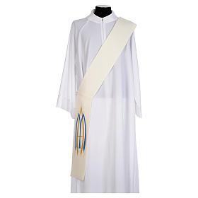 Stola da diacono mariana 100% poliestere s1