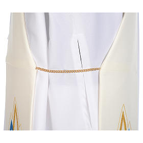 Stola da diacono mariana 100% poliestere s4