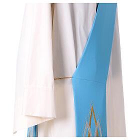 Stola da diacono mariana 100% poliestere s2