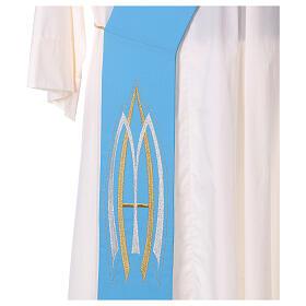 Stola da diacono mariana 100% poliestere s7