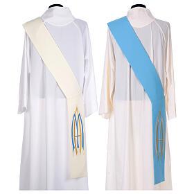 Stola da diacono mariana 100% poliestere s8
