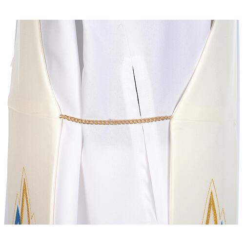 Stola da diacono mariana 100% poliestere 6