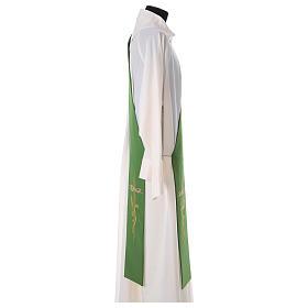 Etole pour diacre épis croix 100% polyester s3