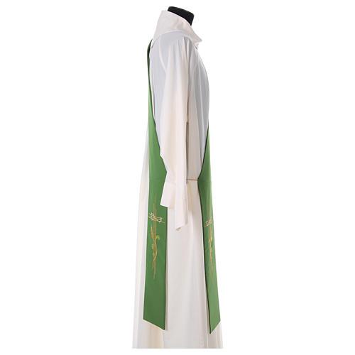 Etole pour diacre épis croix 100% polyester 3