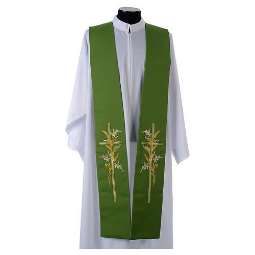 Tristola 100% poliestere croce spighe 1