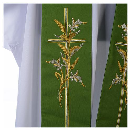 Tristola 100% poliestere croce spighe 2