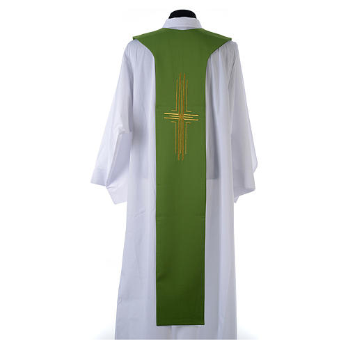 Tristola 100% poliestere croce spighe 3