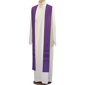 Étole croix et jours pure laine s1