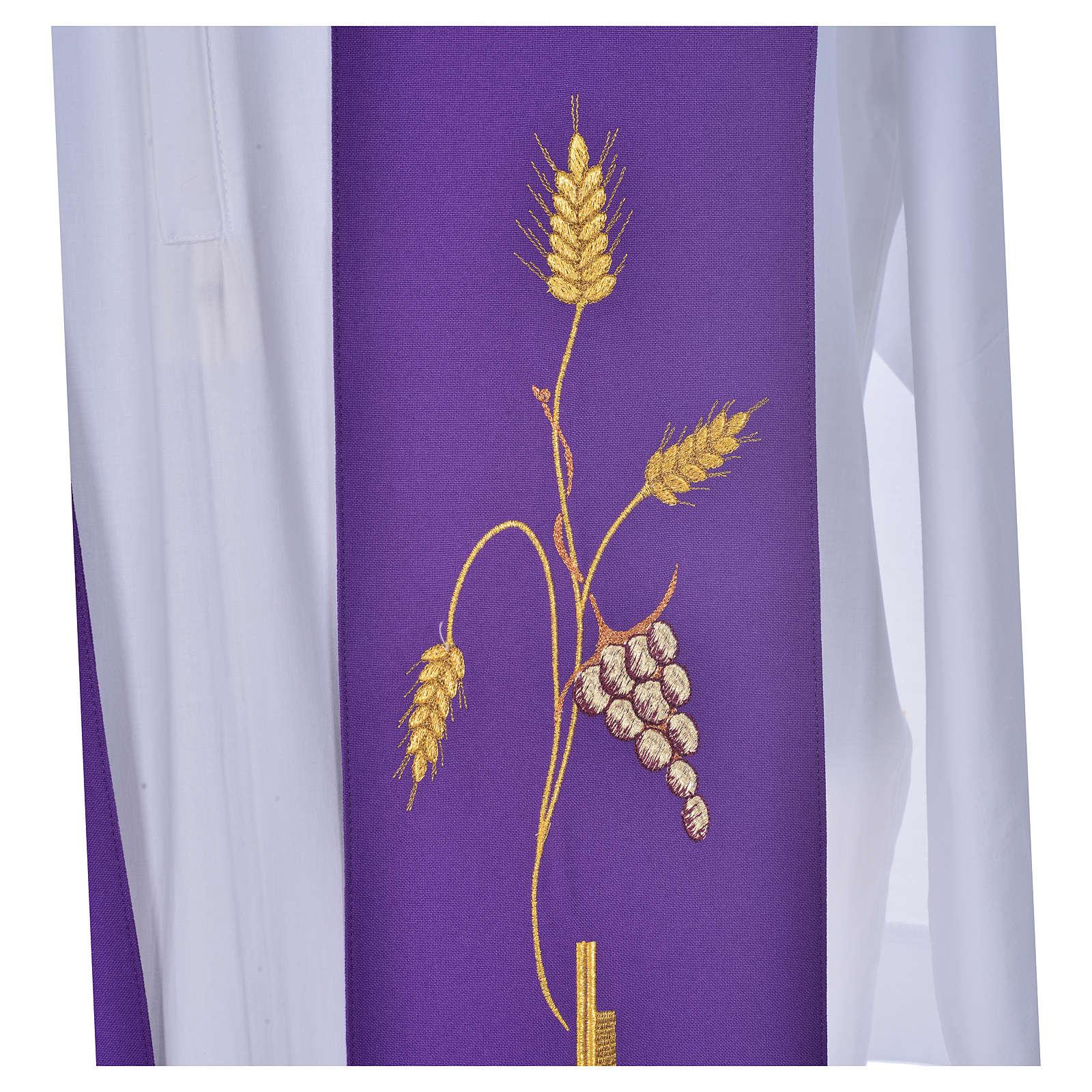 Stola aus Polyester mit Kreuz 4