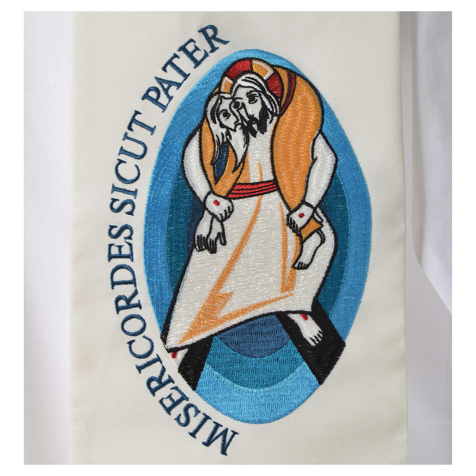 STOCK Grosse Stola Jubilaeum Papst Franziskus 4