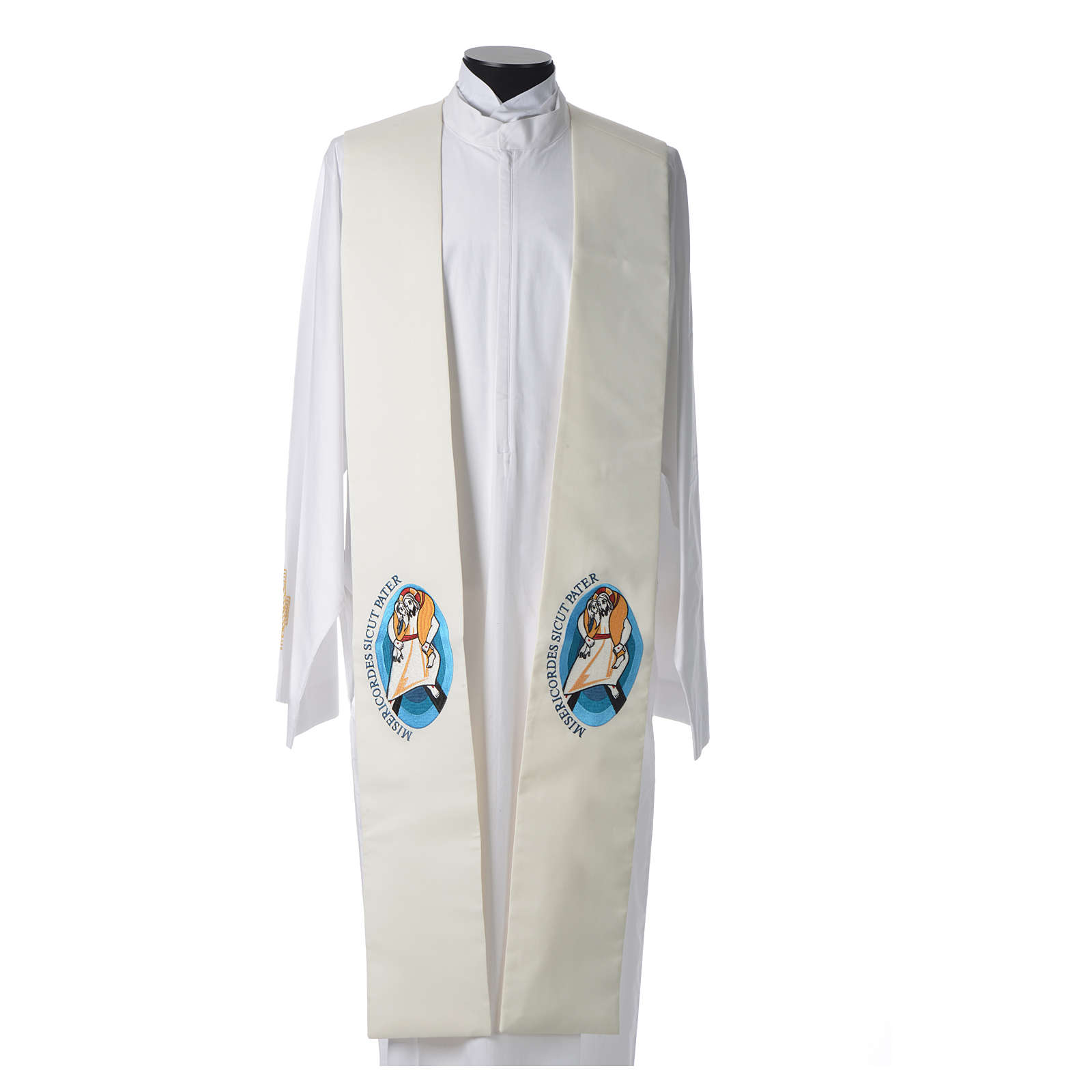 STOCK Pope Francis' Jubilee Big Stole with Latin writing 4