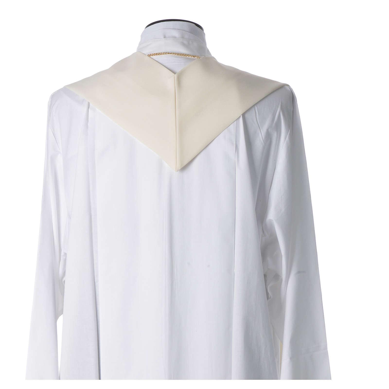 STOCK Stuła Jubileusz Papież Franciszek napis ŁACIŃSKI poliester haft maszynowy 4