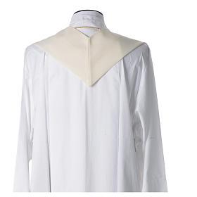 STOCK Estola Jubileu Papa Francisco escrita LATIM poliéster bordado máquina s2