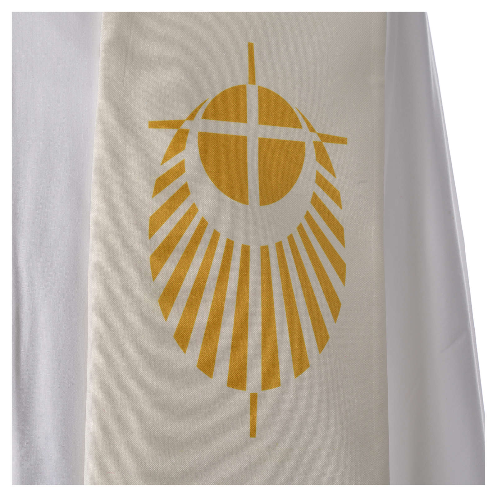 STOCK Jubilee Stole with Latin writing, printed logo 4