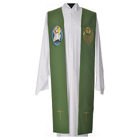 STOCK Priest Stole Jubilee of Mercy LATIN mixed with application s6