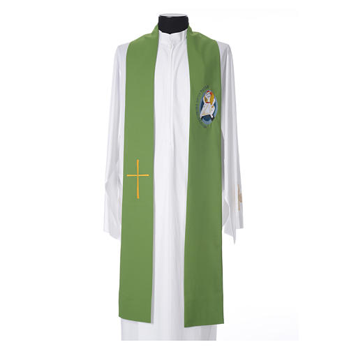 STOCK Stola Giubileo della Misericordia 100% poliestere 8