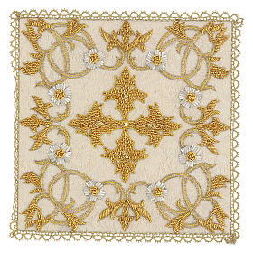 Chalice Cover Damask (Pall) handmade s1