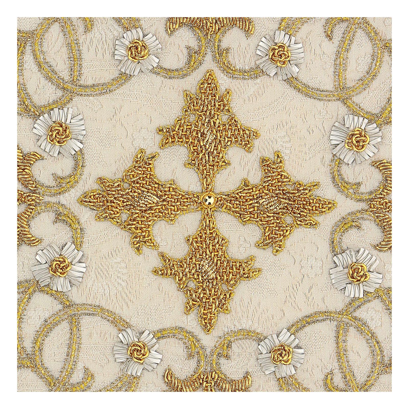 Chalice Cover Damask (Pall) handmade 4
