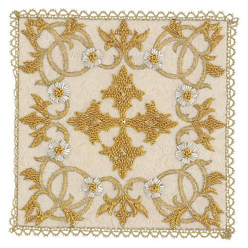 Chalice Cover Damask (Pall) handmade 1