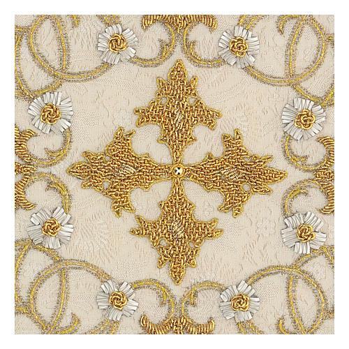 Chalice Cover Damask (Pall) handmade 2