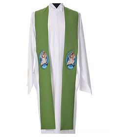 STOCK Pope Francis' Jubilee Big Stole with GERMAN machine embroided logo s6
