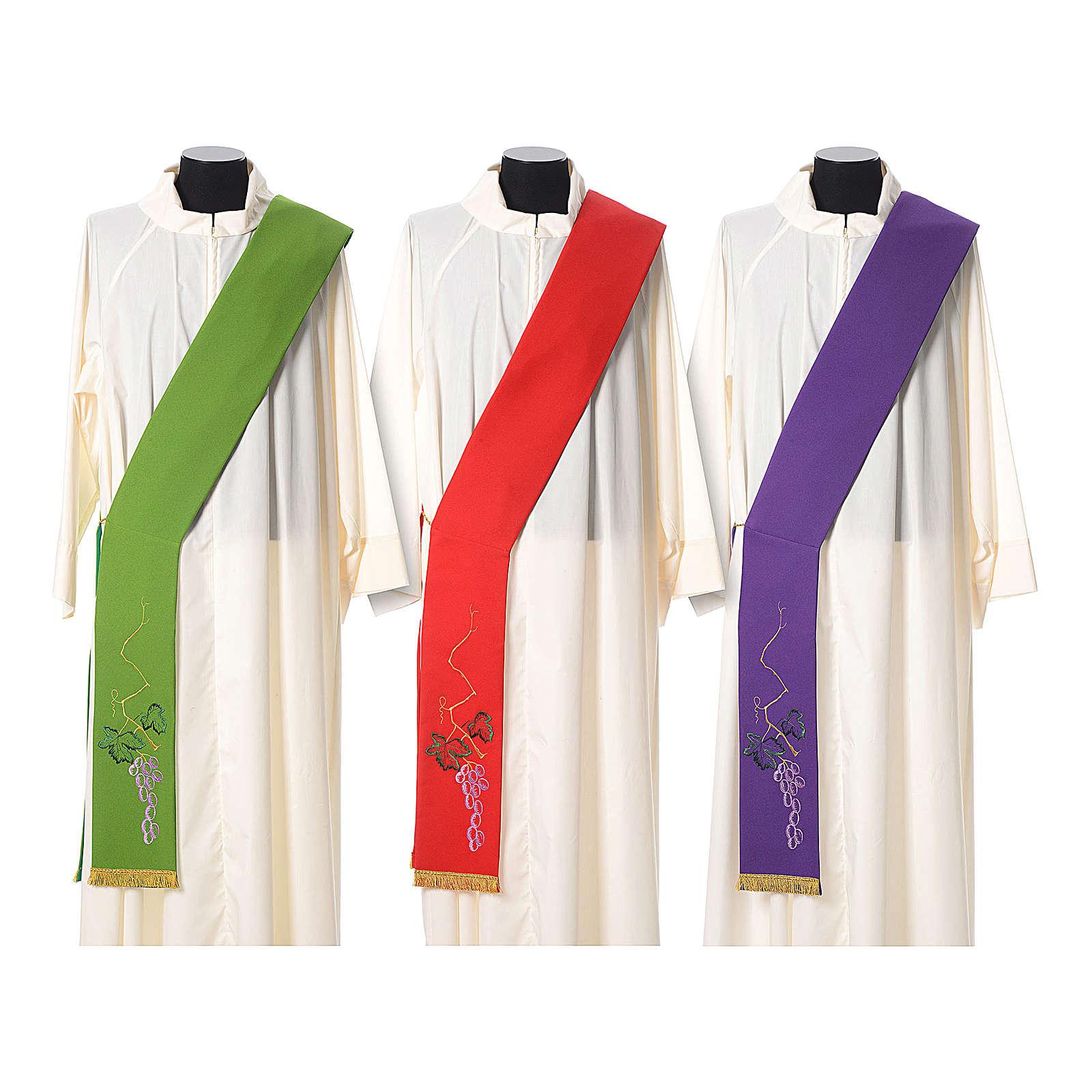 Étole tissu polyester épi doré et vert 4
