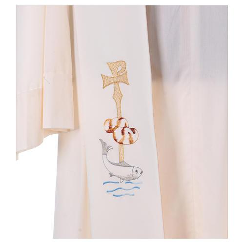 Stola simbolo P pani pesce acqua 2