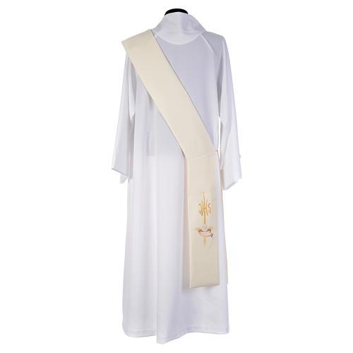 Diakonstola IHS und Patene aus Polyester 2