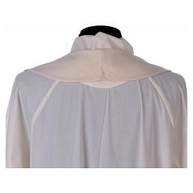 Stola sacerdotale in lana ricamo a mano Monastero Montesole s4