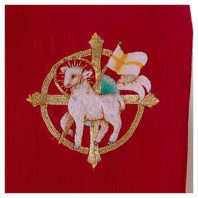Stola misto seta ricamata a mano Monastero Montesole s2