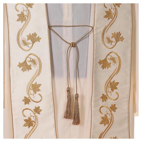 Römische Stola goldenen Stickerei 2