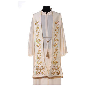 Roman stole, embroidered s1