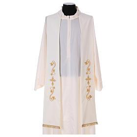 Étole prêtre tissu Vatican s1