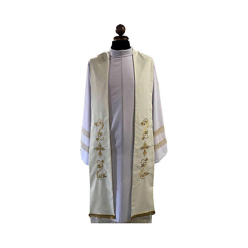 Stola sacerdotale tela vaticana 4