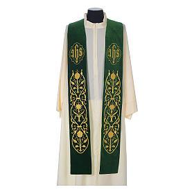 IHS velvet priest stole s2