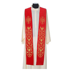 IHS velvet priest stole s3