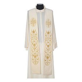 IHS velvet priest stole s4
