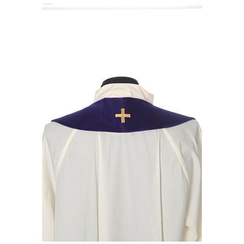 IHS velvet priest stole 8
