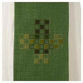 Étole Croix carrés moderne s6