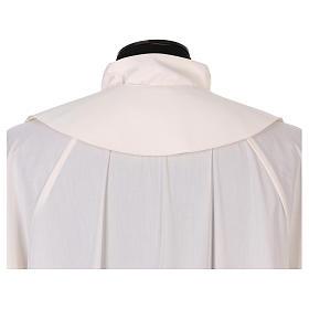 Étole 100% polyester brodée à la machine croix et décorations s4