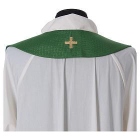 Priesterstola mit Kreuz und Quasten s3