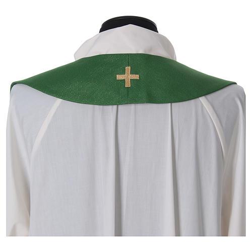 Priesterstola mit Kreuz und Quasten 3