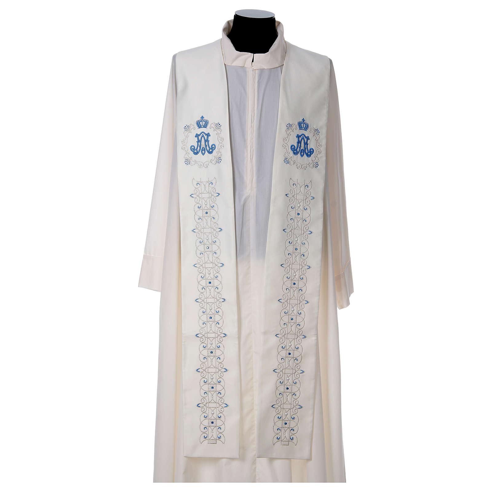 miglior fornitore scopri le ultime tendenze qualità incredibile Stole with Marian symbol