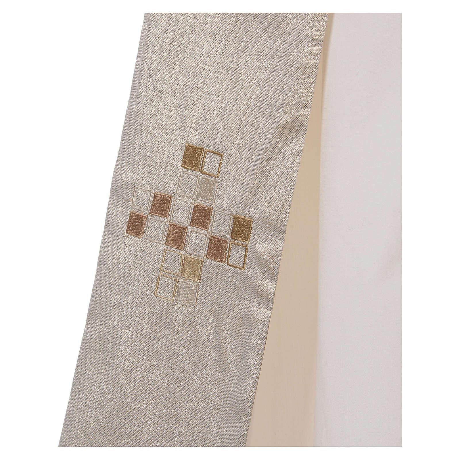 Diaconal stole, golden 4