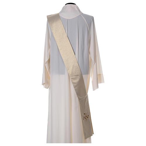Diaconal stole, golden 2