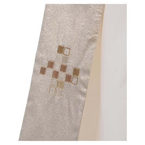 Diaconal stole, golden 3