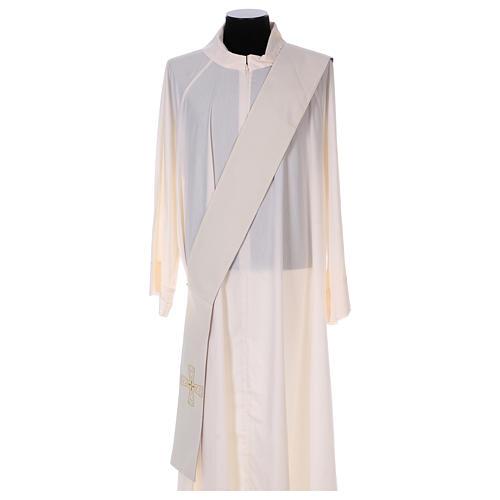 Étole réversible 100% polyester avec croix 5